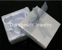 Коробка подарочная Серебро 9x9x3cm