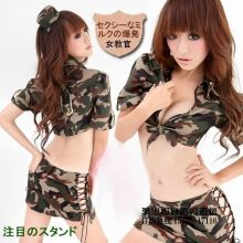 Эротический военный костюм