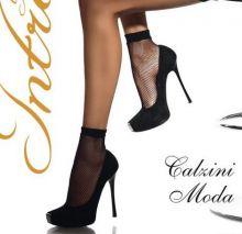 Носки женские сетка черные 2 пары