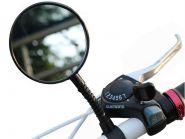 Зеркало для велосипеда с рефлектором