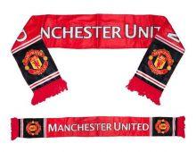 Шарф футбольный Манчестер Юнайтед  флисовый