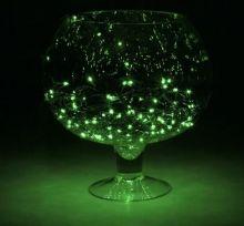 """Гирлянда """"Метраж"""" 5.5 м, нить темная, 140 ламп, Зеленый"""