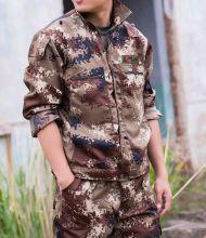 Военный камуфляжный костюм пустыня цифровой