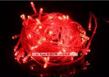 Светодиодная гирлянда уличная 100 метров Красная