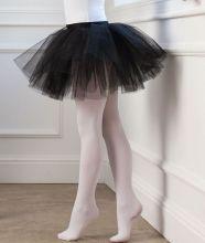 Юбка пачка танцевальная детская Черная