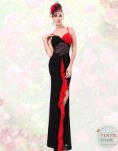 Длинное сексуально вечернее платье Мадрид