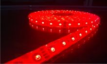 Светодиодная лента LED влагостойкая 12V 5 метров (Красная)